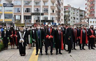 Samsun, Çorum ve Tokat'ta yeni adli yıl açılış...