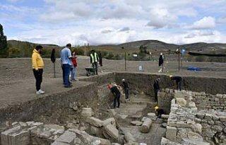 Satala Antik Kenti'ndeki kazıda tarih gün yüzüne...