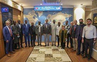 Senegalli dekanlardan Karabük Üniversitesine iş...