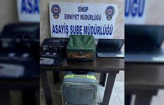 Sinop'ta solunum cihazı hırsızlığı yaptığı...