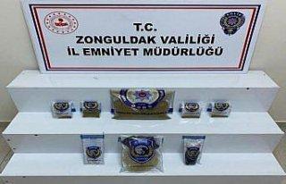 Zonguldak'ta uyuşturucu operasyonunda 6 şüpheli...