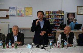AK Parti Genel Başkan Yardımcısı Dağ, Giresun'da...