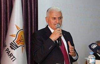 AK Parti Genel Başkanvekili Yıldırım, Bayburt'ta...