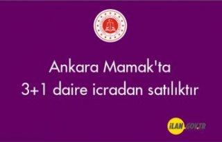 Ankara Mamak'ta 3+1 daire icradan satılıktır