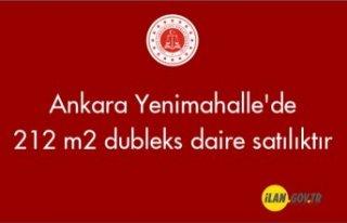 Ankara Yenimahalle'de 212 m² dubleks daire icradan...