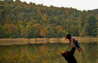 Düzce Kurugöl Tabiat Parkı'nda renk cümbüşü...