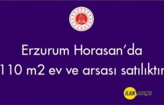 Erzurum Horasan Şerefiye mahallesinde 110 m'...