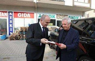 Fenerbahçe'nin eski başkanı Aziz Yıldırım, Düzce'de...