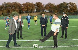 Havza'da 29 Ekim Cumhuriyet Bayramı futbol turnuvası...