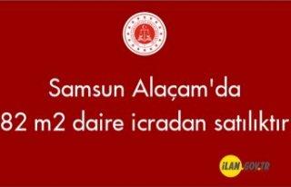 Samsun Alaçam'da 82 m2 daire icradan satılıktır