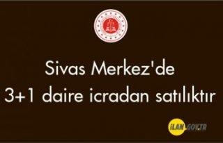 Sivas Merkez'de 3+1 daire icradan satılıktır