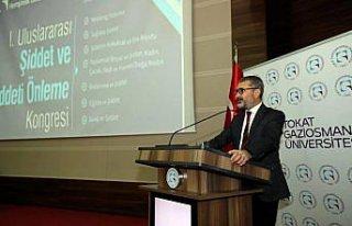 Tokat'ta 1. Uluslararası Şiddet ve Şiddeti Önleme...