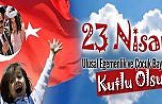 23 Nisan Milli Birliğimizin Kenetlenmiş İfadesidir