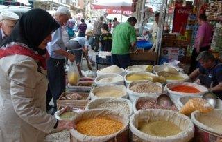 BAFRA'DA RAMAZAN ALIŞVERİŞİ
