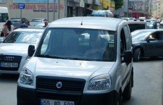Şehir Merkezinde Trafik Sorunu