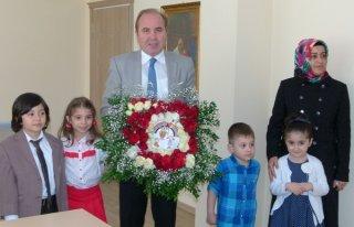 Minik Öğrenciler Kaymakam Katırcı'yı Ziyaret...