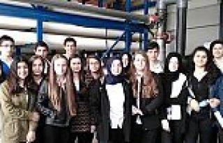 Altınkaya Anadolu Lisesi Su Arıtma Tesisinde