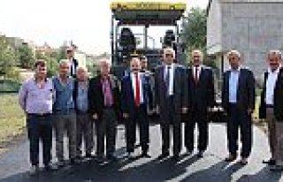 ASFALT ÇALIŞMALARI GAZİ PAŞA MAHALLESİ'NDE...