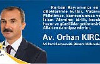 Av. Orhan Kırcalı'dan Bayram Mesajı
