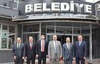 AYANCIK, TÜRKELİ PROTOKOLÜNDEN BAŞKAN ŞAHİN'E...
