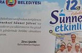 Bafra Belediyesi Sünnet Şölenini İptal Etti