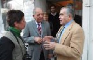 Bafra Kaymakamı Arslan'dan HA-Bİ-DER'e Ziyaret