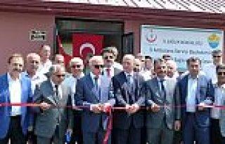 BAFRA'DA 112 ACİL HAVA PİSTİ VE KARA AMBULANSI...