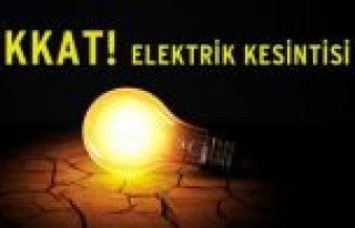 Bafra'da 2 ile 3 Ekim'de Elektrik Kesintisi Yapılacak