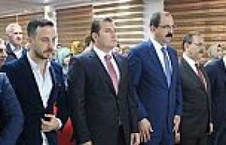 Bafra'da AK Parti İlçe Danışma Kurulu Toplantısı...