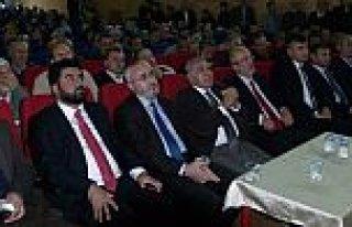 """BAFRA'DA """"CAMİ VE NAMAZLA ARINMA"""" KONFERANSINA..."""