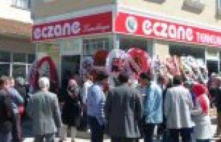 BAFRA'DA 'ECZANE TEMELKAYA' HİZMETE AÇILDI