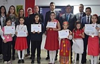 Bafra'da İstiklal Marşı'nı Ezbere Okuma Yarışması