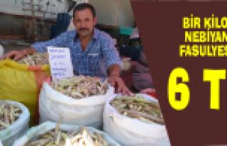 Bafra'da 'Nebiyan' Fasulyesi Yok Satıyor