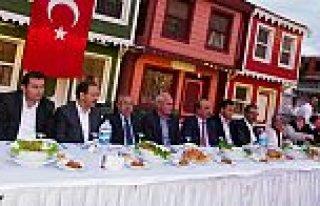 BAFRA'DA ŞEHİT VE GAZİ AİLELERİ İFTAR YEMEĞİNDE...