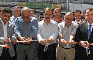 Bafra'da, Ziraat Bankasının Beşyol Şubesi Hizmete...