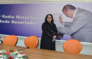 BAFRALI GİRİŞİMCİ KADIN TUĞBA TAŞ AK PARTİ...
