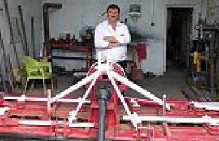 Bafralı Mucit 'Tarım Robotu' İcat Etti