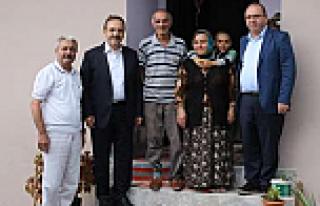 Başkan Şahin'den İhtiyaç Sahibi Aileye Ev