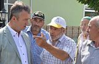 Başkan Topaloğlu, Yörükler Mahallesinde Halkla...
