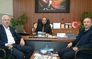 Başkan UYAR'dan Bafra İŞKUR Müdürüne Ziyaret