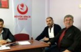 Bayram Candan BBP Atakum İlçe Başkanı oldu