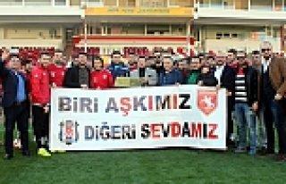 Beşiktaşlı Taraftarlardan, Samsunspor'a Destek