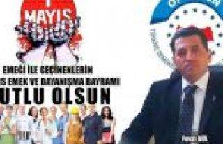 """""""BİR MAYIS'TA MEMURA BAYRAM İKRAMİYESİ ÖDENSİN"""""""