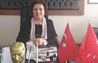 CHP Bafra İlçe Örgütü Kadın Kolları Başkanı...
