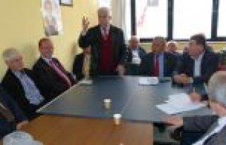 CHP BAFRA İLÇE TEŞKİLATI İSTİŞARE TOPLANTISI...