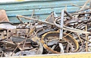 DDY'ye ait 62 ton Hurda Demirin Çalındığı İddiası
