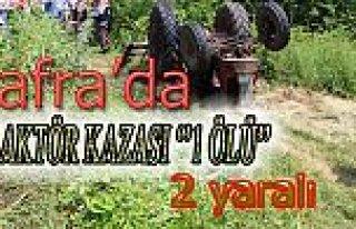 Dikencik Mahallesinde Traktör Takla Attı: 1 Ölü,...