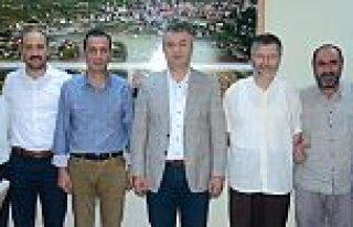 İHH'dan 19 Mayıs Belediyesine Ziyaret(NAMIK AZGIN)