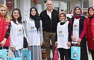 İlkadım Gençlik Merkezi'nden Lösemili çocuklara...