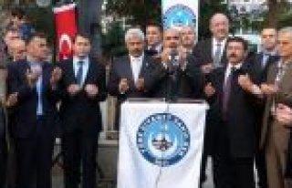 İSRAİL'İN MESCİD-İ AKSA SALDIRILARI BAFRA'DA...